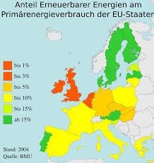 European Union Map European Union Renewables U2022 Mapsof Net