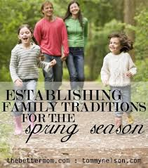 establishing family traditions for the season nelson