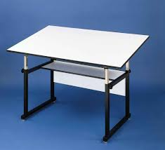 Hamilton Electric Drafting Table Amazon Com Alvin Wm60 3 Xb Workmaster Table Black Base White Top
