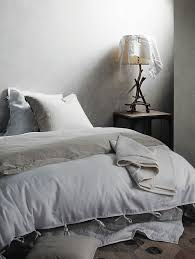 Linen Bed Contemporary Bed Linen Collection From Aura