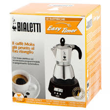 espresso maker bialetti bialetti easy timer moka 3 cup electric coffee pot moka 3 coffee