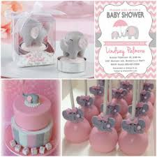 pink and grey elephant baby shower hotref peanut baby shower with pink and grey elephant