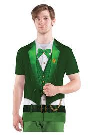 leprechaun costume mens lucky leprechaun costume t shirt costumes