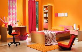 children bedroom energetic orange home decor 2619 latest