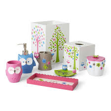 Girly Bathroom Accessories Sets Kids Bathroom Accessories