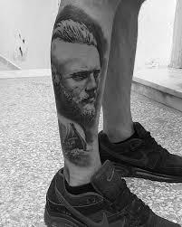 nice realistic ragnar lothbrok tattoo golfian com