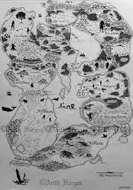 Viking Map Map Of The Nine Norse Worlds By Vikingwidunder On Deviantart