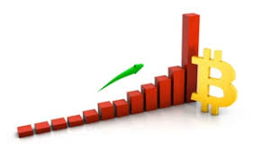 growing chart moving beautiful 3d animation of growing chart of the currency of