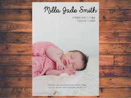 31 best birth announcement thank you cards images on