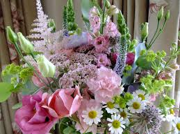 Cottage Garden Farm A July Wedding Bouquet Of English Cottage Garden Flowers At Shustoke