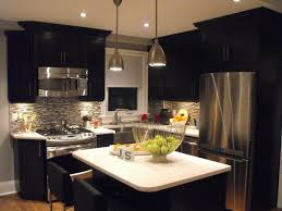 Kitchen Designs With Black Appliances by Elegant And Peaceful Kitchen Designs With Black Appliances Kitchen