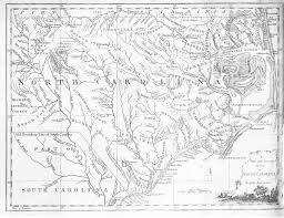 america map carolina 1779 map of carolina