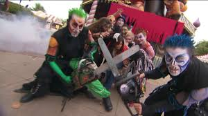 Six Flags Payments Thrills And Chills At Six Flags Fright Fest Wpix 11 New York