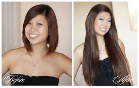 clip in hair extensions before and after how do hair extensions damage your real hair