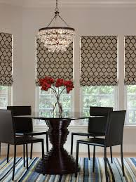 kitchen shades ideas shade ideas dining room contemporary with glass chandelier