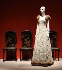 mfah exhibit captures the drama of de la renta u0027s designs houston