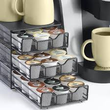 k cup storage drawer holds 54 in tea and coffee storage