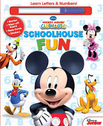 disney mickey mouse clubhouse schoolhouse fun book disney