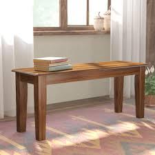 clarissa wood bench