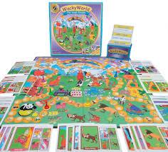amazon com wacky world board game toys u0026 games