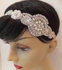rhinestone headbands bridal headband great gatsby bridal headpiece bridal