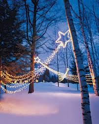 Blue Christmas Lights Decorations by 35 Beautiful Christmas Lighting Decoration Ideas For Creative Juice
