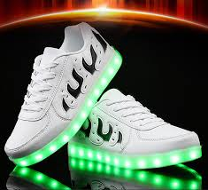 light up shoes charger kriativ 2018 new led usb charger lighted shoes for lovers friends