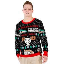 christmas vacation fun old fashioned family sweater