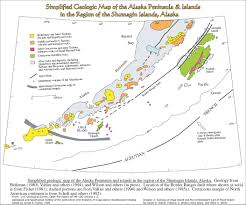 Aleutian Islands Map Seismicity U0026 Geology Of Unimak Area