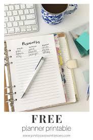 free printable planner online password log free printable planner insert mini binder free
