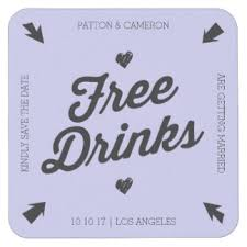 save the date coasters save date drink beverage coasters zazzle