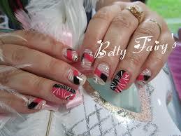 deco ongle en gel noir et blanc french bi color rose et noir gel mask déco féerique jusqu u0027au