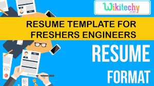 Sample Resume Templates For Freshers by Resume Resume Template For Freshers Engineers Sample Resume