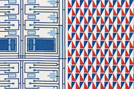 Lloyds Luxury Home Design Inc Frank Lloyd Wright U0027s Textile Designs From 1955 Available To Buy