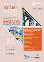 Miami Dade College Wolfson Campus Map by Colorcomm Miami Building Trust In The Age Of Fake News Tickets