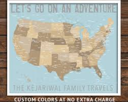 map usa framed travel map push pin us map world maps map travel push