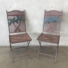 Foldable Patio Furniture Vintage U0026 Antique Patio Tables And Chairs U2013 Urbanamericana