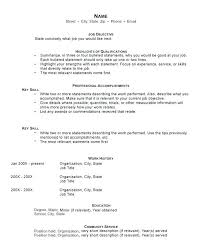 proper resume template great resume templates inssite