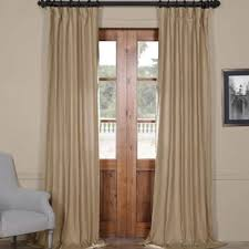 taupe linen curtains wayfair