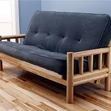 amazon com monterey futon frame in natural finish kitchen u0026 dining