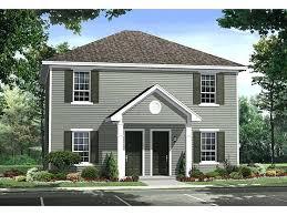 duplex plans with garage in middle plans house duplex plans