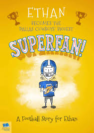 football superfan personalized book for