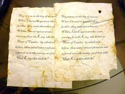 Antique Writing Paper How To Make Paper Look Old Like Ancient Manuscript In Parchment