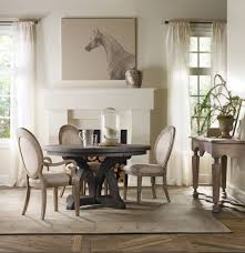 Dining Room With Fireplace by Furniture Pedestal Base Oval Dining Table With White Mantel