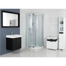 casa 1850mm quadrant shower enclosure leekes