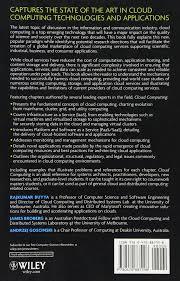 cloud computing principles and paradigms amazon ca rajkumar
