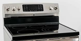 Kenmore Electric Cooktop Kenmore 94243 Electric Freestanding Range Review Reviewed Com Ovens