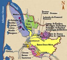 map of bordeaux bordeaux vineyard map and where to go sip wine