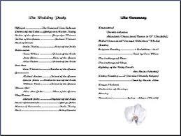 wedding program templates free church program garden church ceremony program bulletin wedding