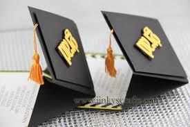 graduation cap invitations jinky s crafts designs 3d graduation cap pop up invitations
